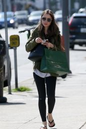 Lily Collins - Shopping in Beverly Hills 04/14/2019
