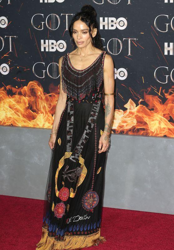 """Lisa Bonet – """"Game of Thrones"""" Season 8 Premiere in NY"""