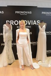 Lottie Moss - Pronovias Event at the Barcelona Bridal Week 04/25/2019