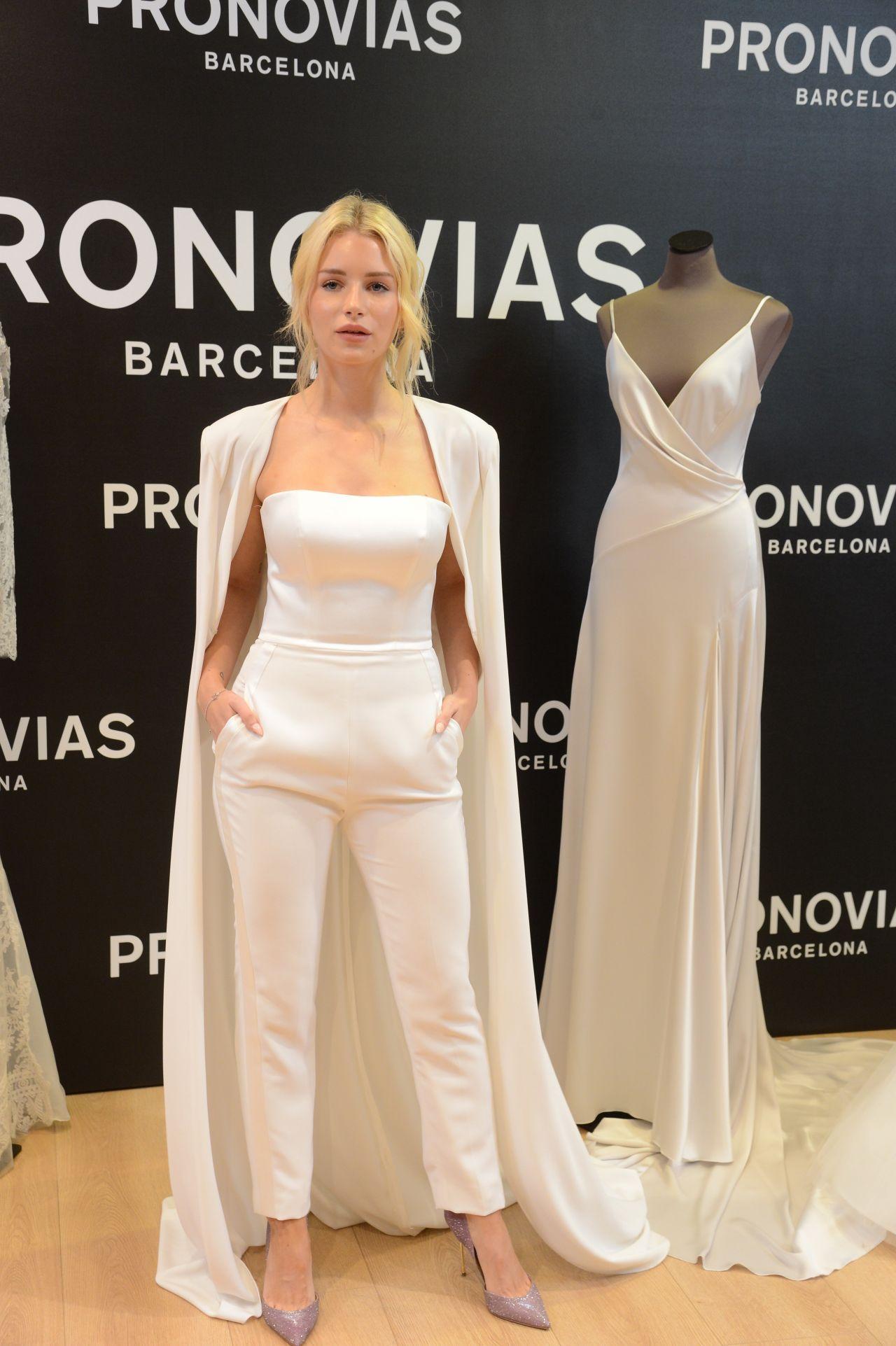 4f44a9ba26c13 Lottie Moss - Pronovias Event at the Barcelona Bridal Week 04/25/2019