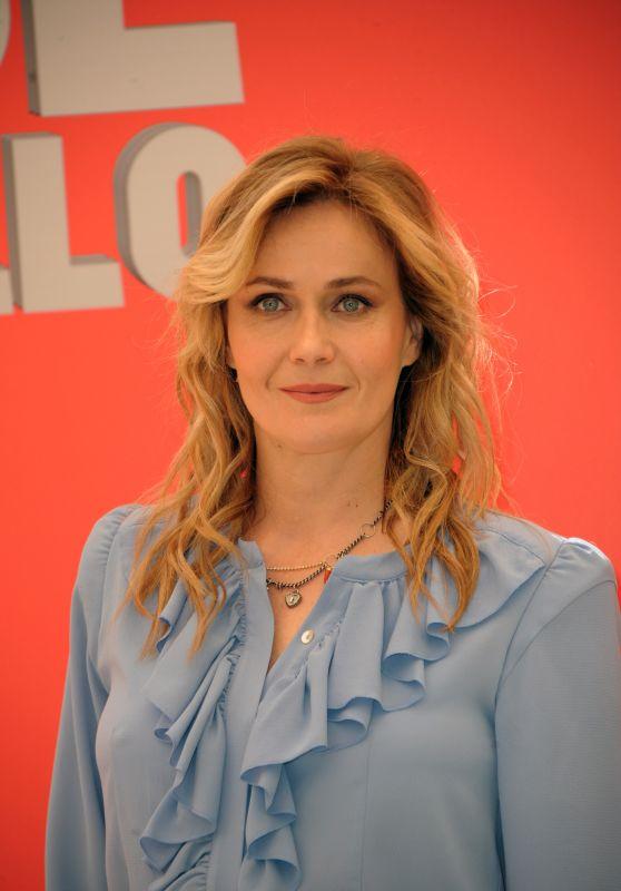 """Lucia Mascino - """"Ma Cosa Ci Dice Il Cervello"""" Photocall  in Rome"""