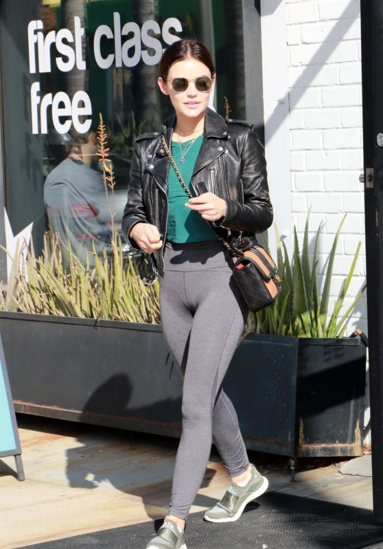Lucy Hale - Hitting the Gym in Studio City 04/05/2019