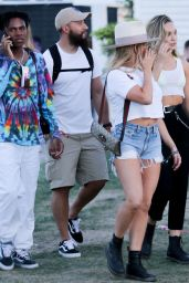 Maddie Ziegler and Kailand Morris at the Coachella 04/12/2019