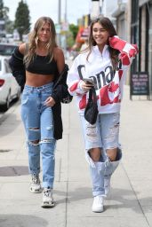 Madison Beer and Isabella Jones - Shopping on Melrose Ave 04/05/2019