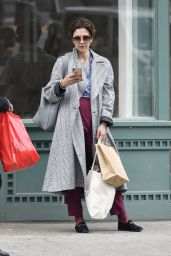 Maggie Gyllenhaal - Shopping in NYC 04/14/2019