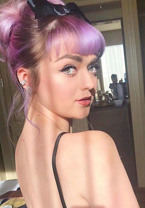 Maisie Williams - Personal Pics 04/05/2019