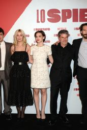 """Marie-Ange Casta - """"The Ruthless"""" Film Photocall in Milan"""