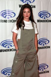 Marie Avgeropoulos - The 100 Press Line at WonderCon 2019