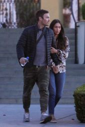 Megan Fox amd Brian Austin Green on a Romantic Date Night in LA 04/02/2019