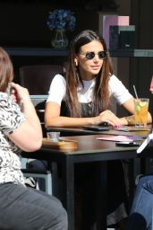 Michelle Keegan - Having Lunch in Hale, Cheshire 04/06/2019