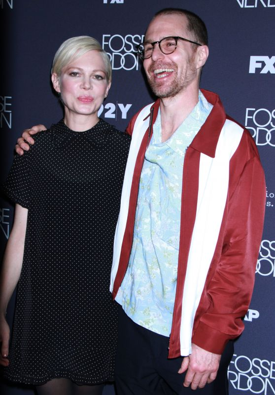 "Michelle Williams and Sam Rockwell - ""Fosse/Verdon"" Screening and Conversation in NYC 04/18/2019"