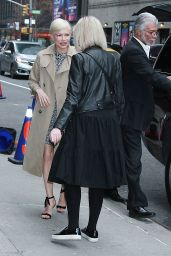 Michelle Williams - Arriving at The Late Show With Stephen Colbert 04/09/2019