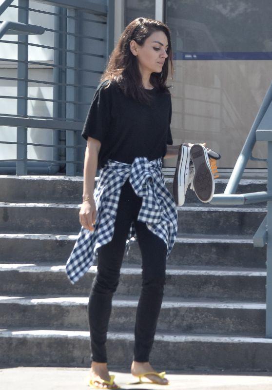 Mila Kunis - Out in Studio City 04/18/2019
