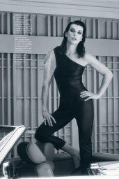 Milla Jovovich - ELLE Magazine Italia April 2019 Issue