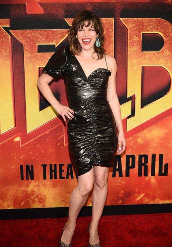 "Milla Jovovich - ""Hellboy"" Screening in New York City"