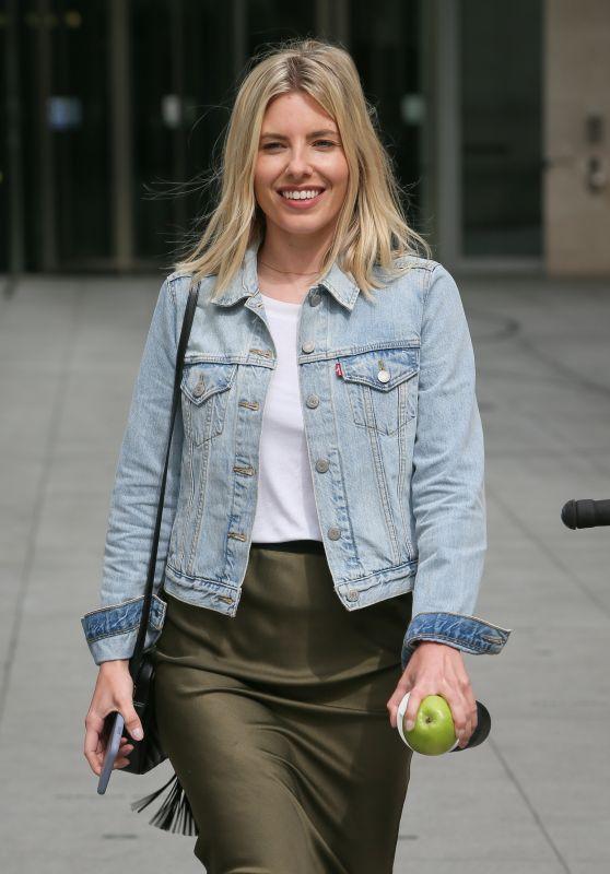 Mollie King - BBC Radio One Studios in London 04/23/2019