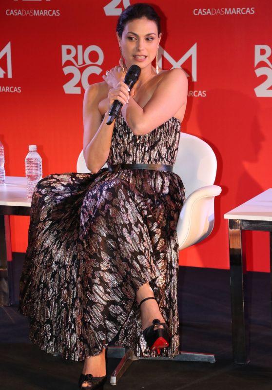 Morena Baccarin - Rio2C in the City of Arts in Rio de Janeiro 04/26/2019