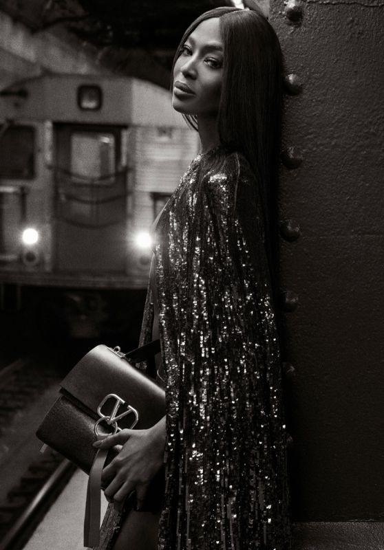 Naomi Campbell - Photoshoot in the New York Metro for Valentino