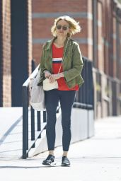 Naomi Watts in Leggings - Out in New York 04/14/2019