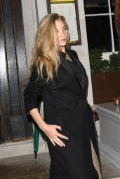 Natalie Dormer Style - Leaving a Restaurant in London 04/16/2019