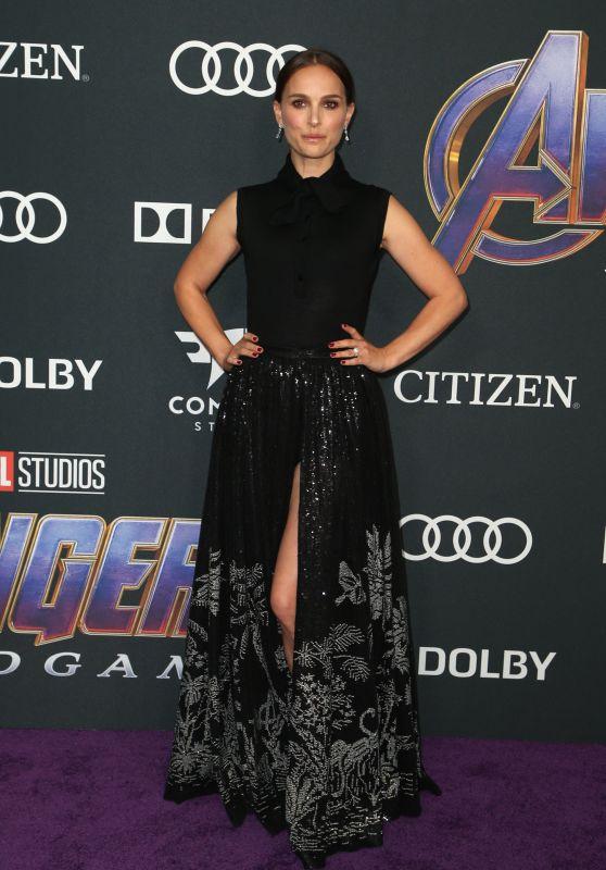"""Natalie Portman – """"Avengers: Endgame"""" Premiere in LA"""