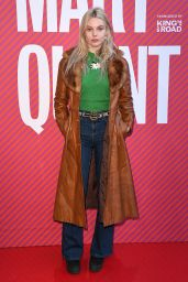 Nell Hudson - Mary Quant Exhibition in London 04/03/2019