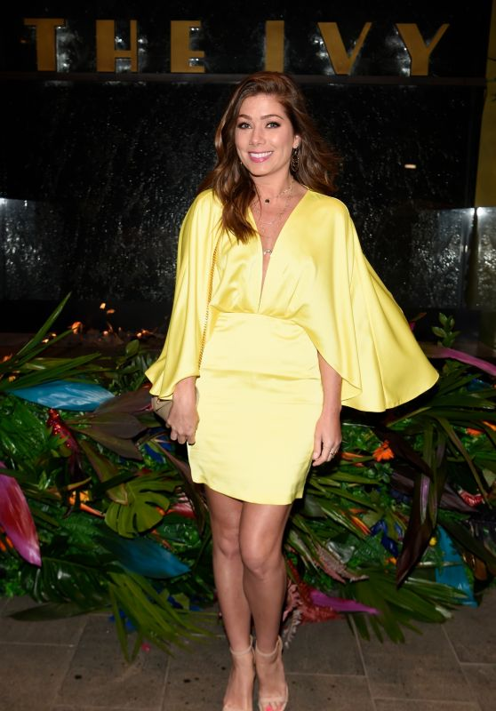 Nikki Sanderson – The Ivy Manchester Roof Top Re Launching A Circus Party in Manchester 04/12/2019