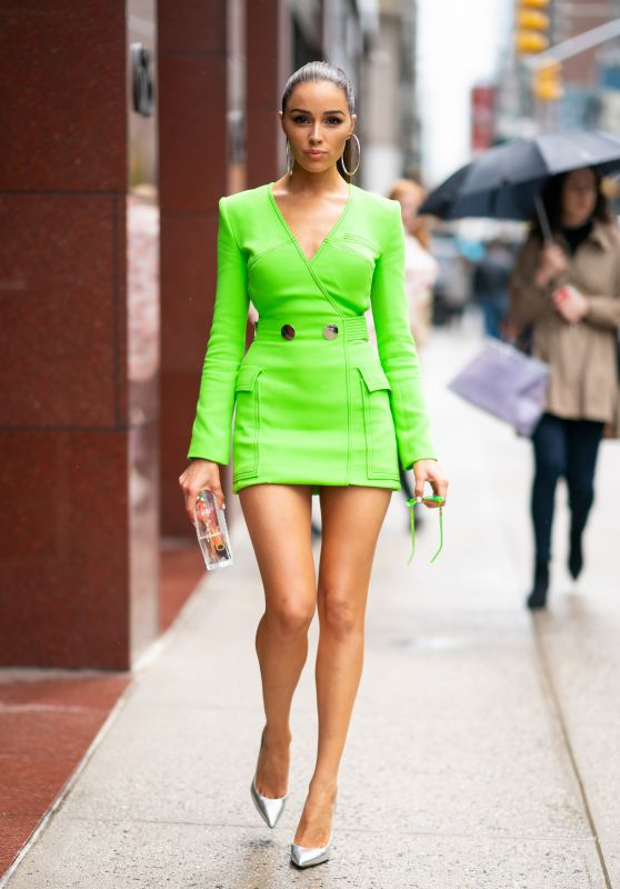 Olivia Culpo Style and Fashion - NYC 04/26/2019