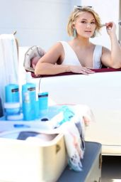 Olivia Holt - Neutrogena Hydro Boost Haus in Palm Springs 04/11/2019