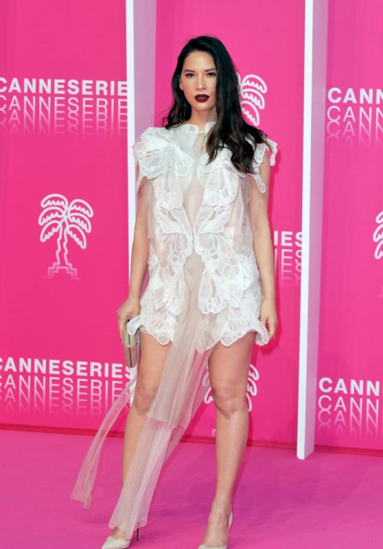Olivia Munn - 2019 Cannesseries in Cannes