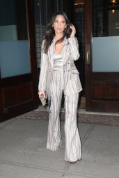 Olivia Munn Shows Off Her Eclectic Style - NYC 04/17/2019