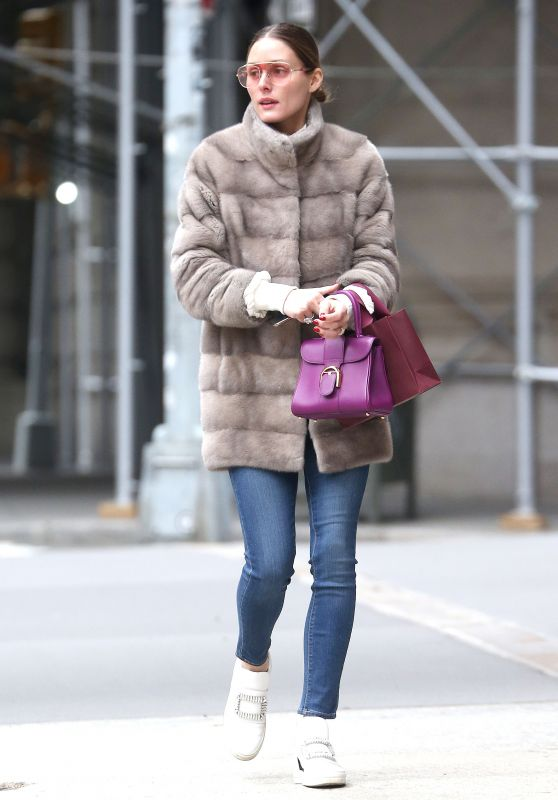 Olivia Palermo - Out in New York City 04/11/2019