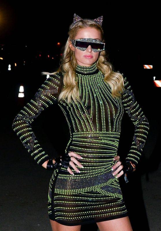 Paris Hilton - Neon Festival at Coachella in Indio 04/13/2019