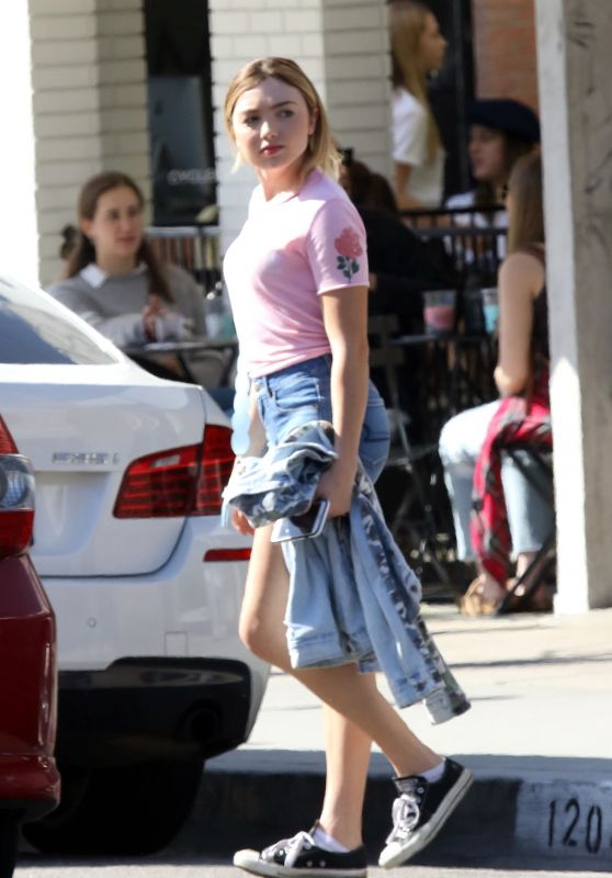 Peyton List - Out in Studio City 04/19/2019