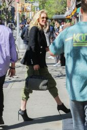 Portia de Rossi at The Bowery Hotel in NYC 04/25/2019