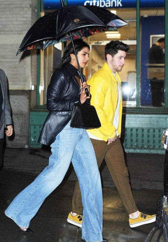 Priyanka Chopra and Nick Jonas - Leaving Mr Chow in New York 04/05/2019