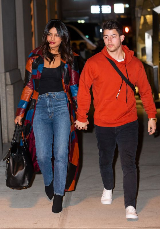 Priyanka Chopra and Nick Jonas - Out in New York 04/04/2019