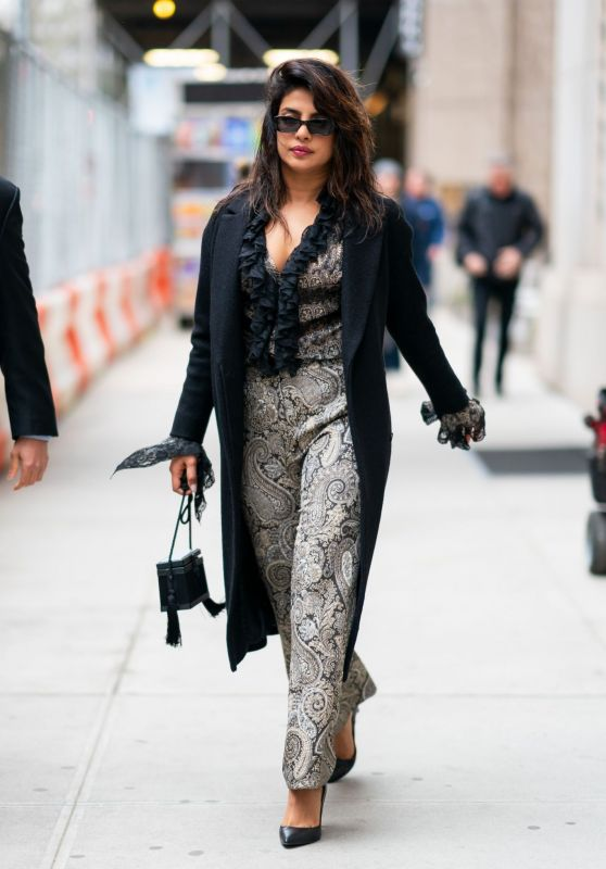 Priyanka Chopra is Looking All Stylish - Tribeca, NYC 04/12/2019