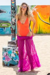 Rachel McCord in Swimsuit - Photoshoot on Venice Beach 04/25/2019