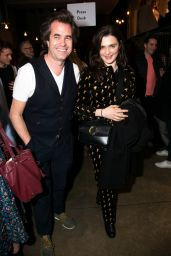 """Rachel Weisz - """"Three Sisters"""" Play, After Party in London"""