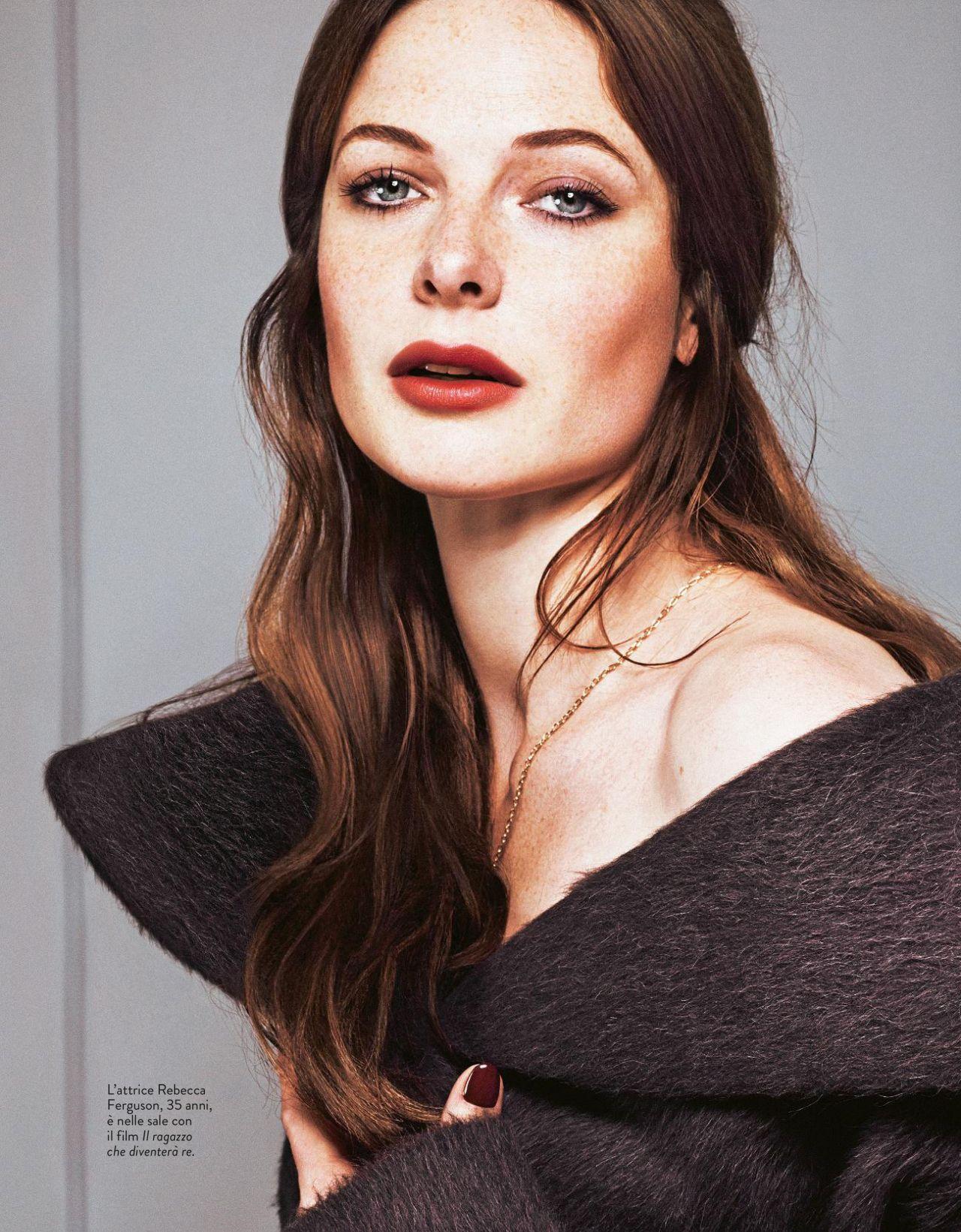 Rebecca Ferguson - Grazia Magazine Italy April 2019 Issue
