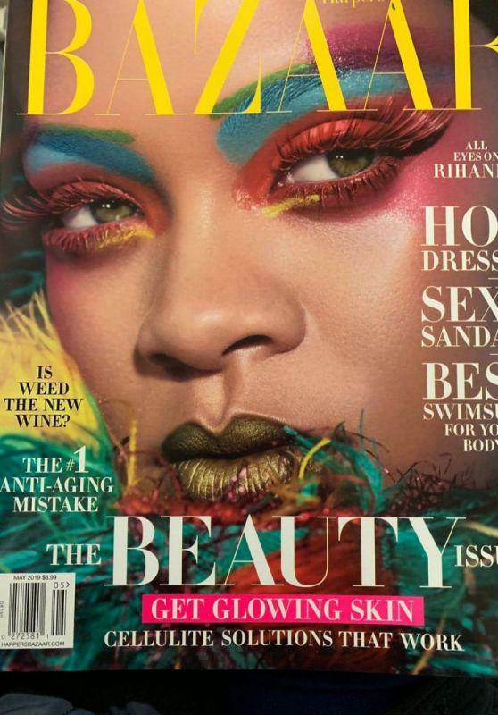 Rihanna Harper S Bazaar Magazine May 2019