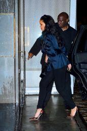 Rihanna - Perry Street Restaurant in NYC 04/12/2019