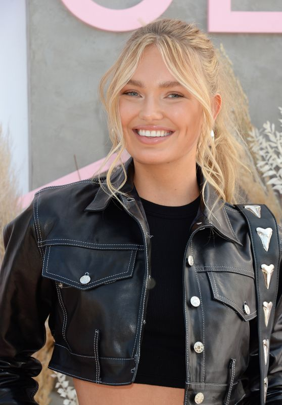 Romee Strijd - Revolve Party at Coachella 04/14/2019