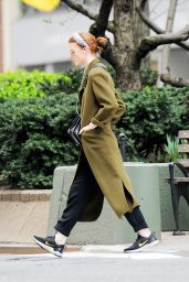 Rose Leslie - Out in New York City 04/08/2019