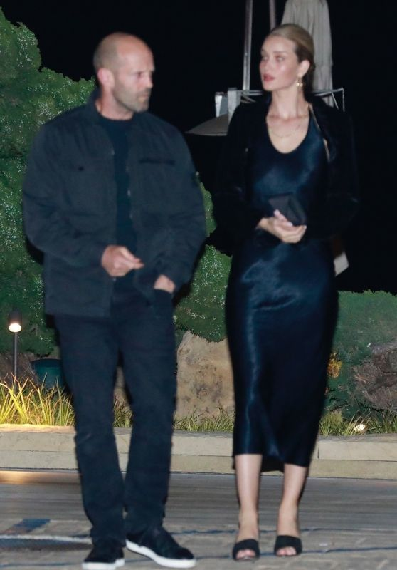 Rosie Huntington-Whiteley and Jason Statham at Nobu in Malibu 04/12/2019