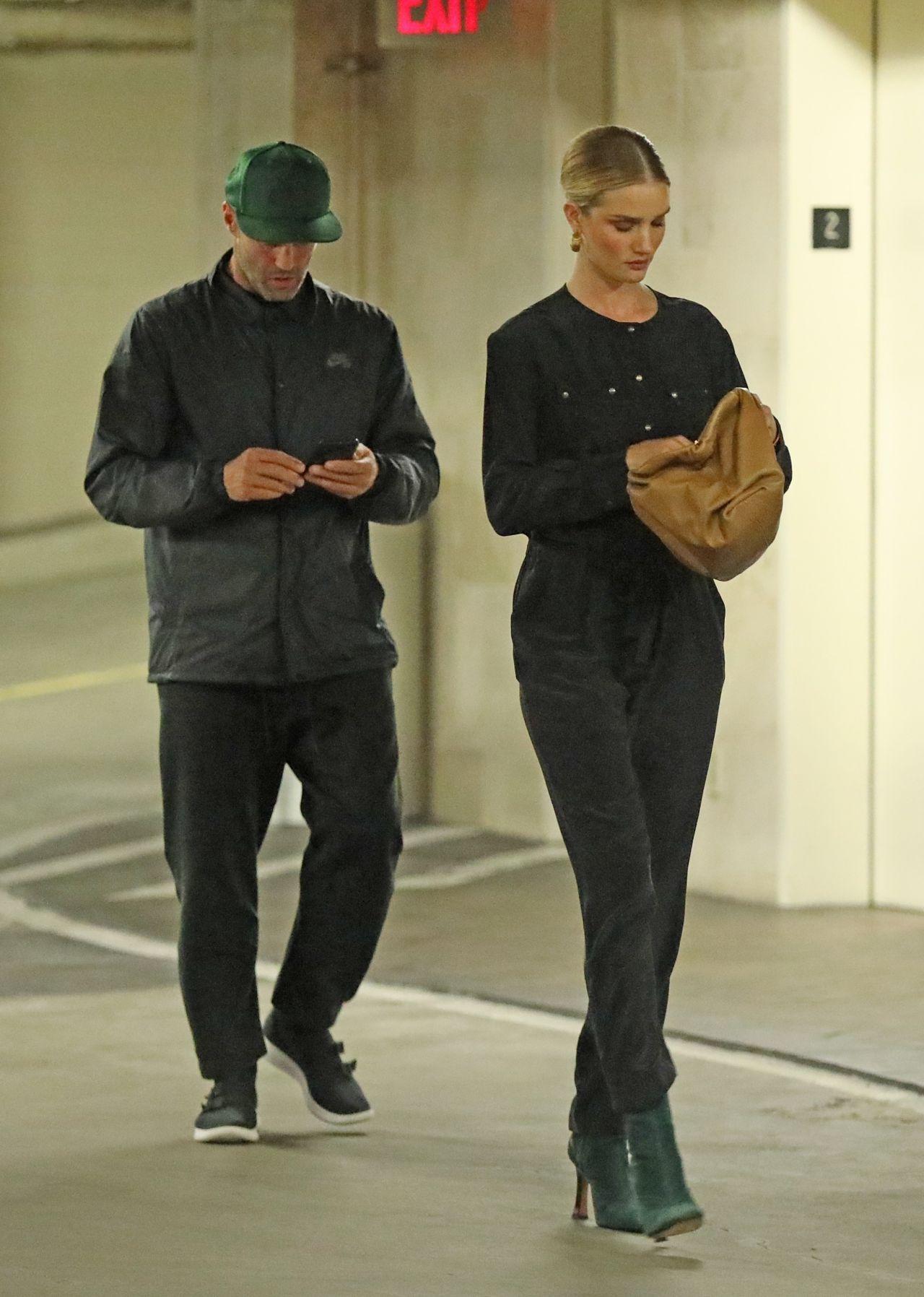 Rosie Huntington Whiteley And Jason Statham Beverly