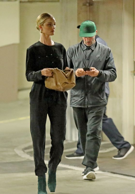 Rosie Huntington-Whiteley and Jason Statham - Beverly Hills 04/15/2019