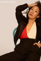 Sandra Oh – Marie Claire Magazine May 2019