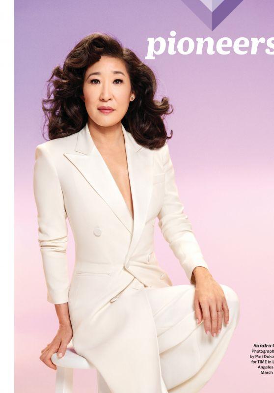 Sandra Oh – TIME100 Magazine April/May 2019